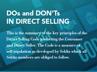 DOs and DON'Ts in Direct Selling